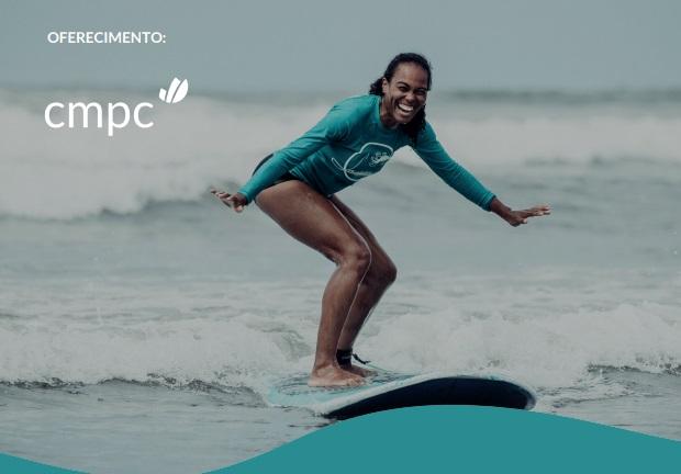 CMPC Surf Day oferece aulas de surf gratuitas para mulheres na Praia do Cassino