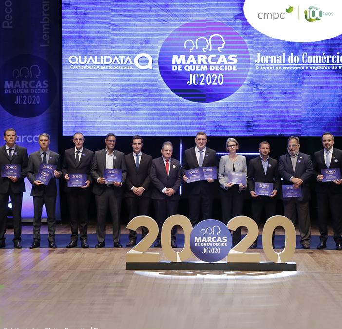 CMPC fica em 1º lugar como a marca ambiental mais lembrada e preferida entre os gaúchos