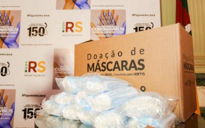 Nessa semana Grupo CMPC doa mais 206 mil máscaras cirúrgicas para o Rio Grande do Sul