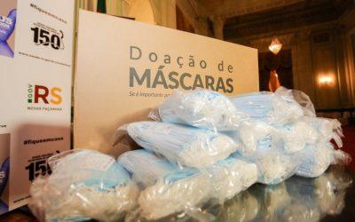 CMPC continua com doações e entrega mais de 200 mil máscaras no Rio Grande do Sul