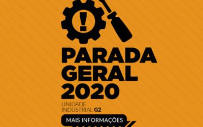 Com investimento de R$ 51,7 milhões, CMPC realiza Parada Geral com sucesso na linha 2 de Guaíba