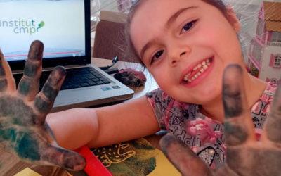 Dia das crianças com oficinas de arte-educação para crianças