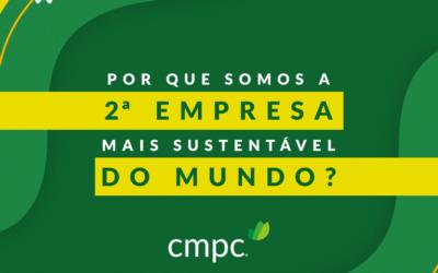 Índice de Sustentabilidade Dow Jones: CMPC é premiada como uma das empresas florestais mais sustentáveis do mundo