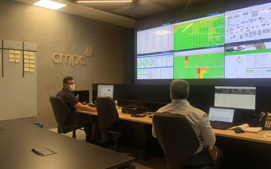 CMPC inaugura Sala 4.0 de inovação, ambiente de acompanhamento de todos os processos operacionais